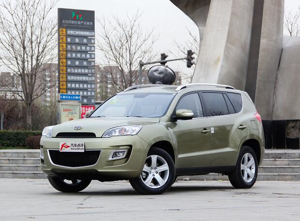 吉利新款豪情SUV上市 售12.99-15.29万