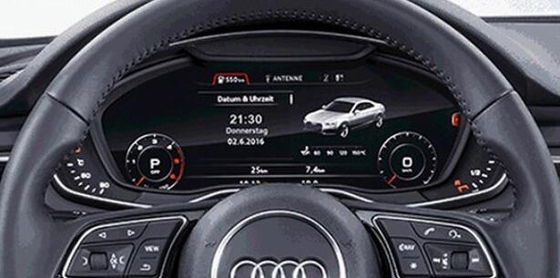 奥迪全新A5将6月2日首发 全液晶仪表盘