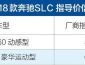 奔驰新款SLC车型上市 售价55.5-68.3万元